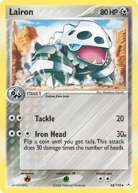 Lairon, Pokemon, Holon Phantoms