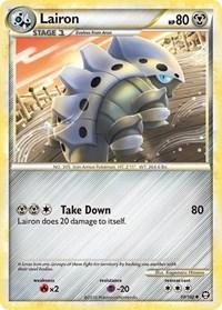 Lairon, Pokemon, Triumphant