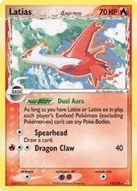 Latias (11 - Delta Species), Pokemon, Holon Phantoms