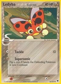 Ledyba (Delta Species), Pokemon, Dragon Frontiers