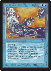 Air Elemental, Magic, Beta Edition