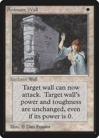 Animate Wall, Magic: The Gathering, Beta Edition