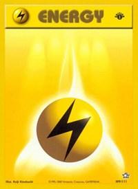 Lightning Energy, Pokemon, Neo Genesis