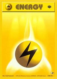 Lightning Energy, Pokemon, Gym Heroes