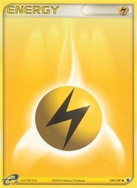Lightning Energy, Pokemon, Ruby and Sapphire