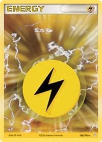 Lightning Energy, Pokemon, Holon Phantoms