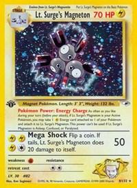 Lt. Surge's Magneton, Pokemon, Gym Heroes