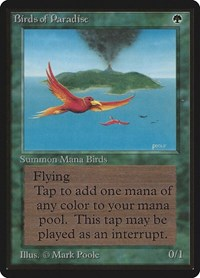 Birds of Paradise, Magic: The Gathering, Beta Edition