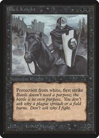 Black Knight, Magic: The Gathering, Beta Edition