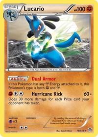 Lucario, Pokemon, Plasma Storm