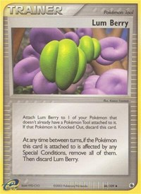 Lum Berry, Pokemon, Ruby and Sapphire
