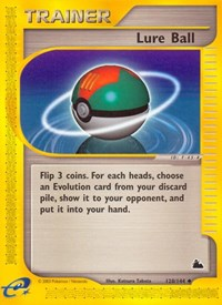 Lure Ball, Pokemon, Skyridge