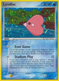 Luvdisc, Pokemon, Crystal Guardians
