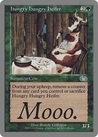 Hungry Hungry Heifer, Magic: The Gathering, Unglued