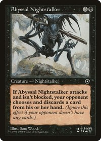 Abyssal Nightstalker, Magic: The Gathering, Portal Second Age