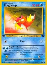 Magikarp, Pokemon, Team Rocket
