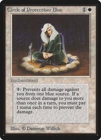 Circle of Protection: Blue, Magic: The Gathering, Beta Edition