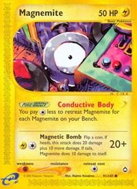 Magnemite (91), Pokemon, Aquapolis