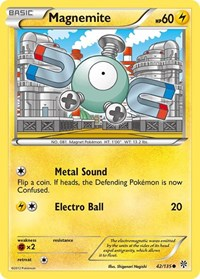 Magnemite, Pokemon, Plasma Storm
