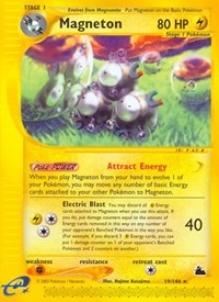Magneton (19), Pokemon, Skyridge
