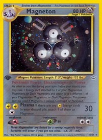 Magneton, Pokemon, Neo Revelation