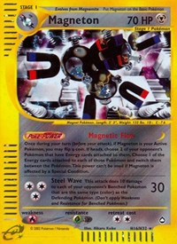 Magneton (H16), Pokemon, Aquapolis