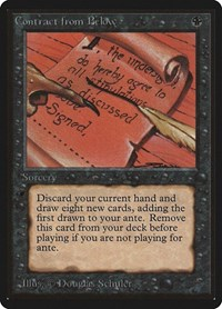 Contract from Below, Magic: The Gathering, Beta Edition