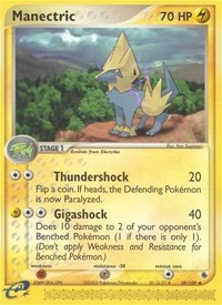 Manectric (39), Pokemon, Ruby and Sapphire