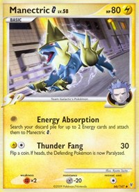 Manectric G, Pokemon, Supreme Victors