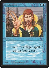 Counterspell, Magic: The Gathering, Beta Edition