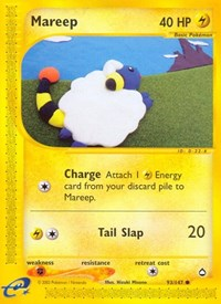 Mareep, Pokemon, Aquapolis