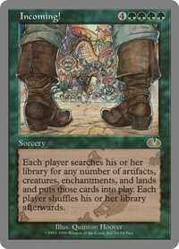Incoming!, Magic: The Gathering, Unglued
