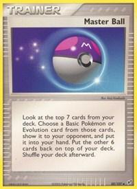 Master Ball, Pokemon, Deoxys