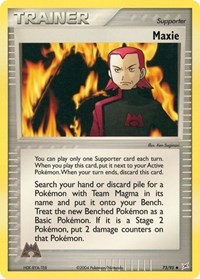 Maxie, Pokemon, Team Magma vs Team Aqua