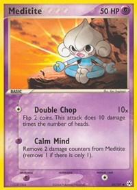 Meditite (65), Pokemon, Hidden Legends