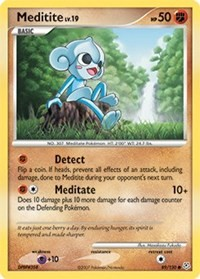Meditite, Pokemon, Diamond and Pearl