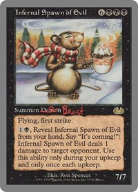 Infernal Spawn of Evil, Magic: The Gathering, Unglued