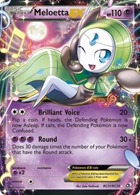 Meloetta EX, Pokemon, Legendary Treasures: Radiant Collection