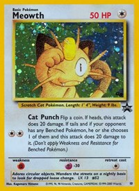 Meowth, Pokemon, WoTC Promo