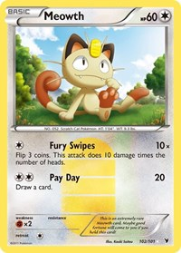 Meowth, Pokemon, Noble Victories