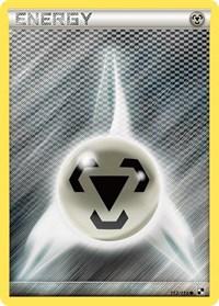 Metal Energy (Basic), Pokemon, Black and White