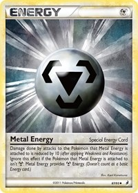 Metal Energy (Special), Pokemon, Call of Legends