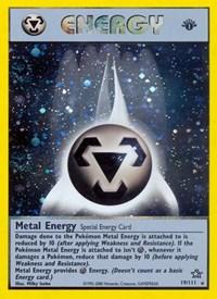 Metal Energy (Special), Pokemon, Neo Genesis