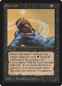 Drain Life, Magic, Beta Edition