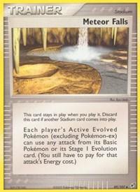 Meteor Falls, Pokemon, Deoxys