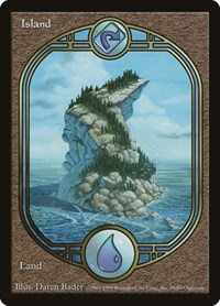 Island - Unglued, Magic: The Gathering, Unglued