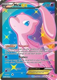 Mew EX (Full Art), Pokemon, Legendary Treasures: Radiant Collection