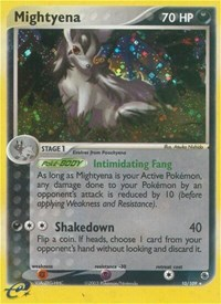 Mightyena (10), Pokemon, Ruby and Sapphire