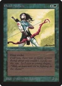Elvish Archers, Magic, Beta Edition