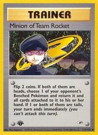 Minion of Team Rocket, Pokemon, Gym Heroes
